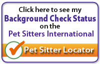 PSI Background Check Passed Graphic - Choices Pet Sitters