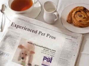 Contacting Choices Pet Sitters