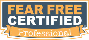 About Us: Fear Free Certified Logo
