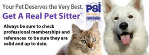Get A Real Pet Sitter - Always be sure