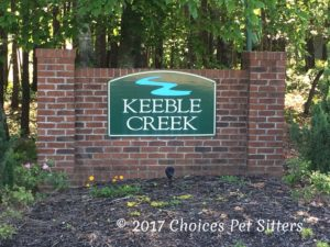 Service Area - Keeble Creek Community