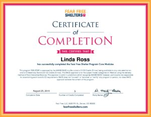Fear-Free-Shelters-Course-Certificate