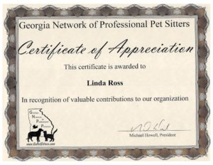 GNPP Certificate of Appreciation
